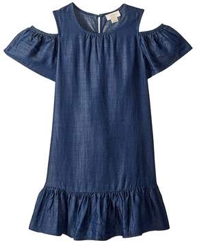 Kate Spade Kids Chambray Cut Out Dress Girl's Dress