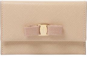 Salvatore Ferragamo Women's Bow Leather Long Wallet