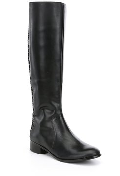 Antonio Melani Pembrooke Braided Back Detail Riding Boots