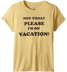 Billabong Kids Vaca Tee Girl's T Shirt