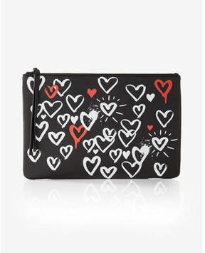 Express Wet Paint Graphic Pouch