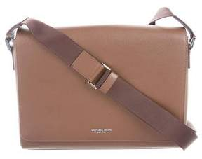Michael Kors Leather Messenger Bag