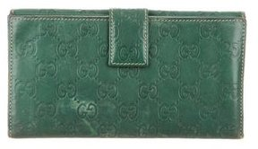 Gucci Guccissima Signature Continental Wallet - GREEN - STYLE