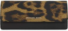 MICHAEL Michael Kors Saffiano leather wallet - BUTTERSCOTCH - STYLE