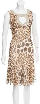 Jenny Packham Embellished Cocktail Dress