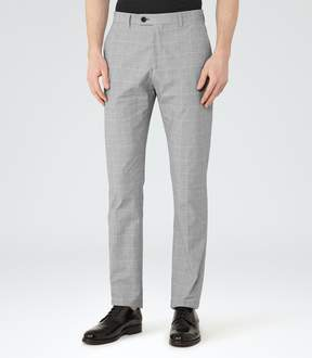 Reiss Jenkins Houndstooth Check Trousers