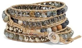Chan Luu Women's Semiprecious Stone Wrap Bracelet