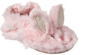 Robeez Kids' Fuzzy Bunny Slipper