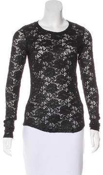 Generation Love Lace Long Sleeve Top