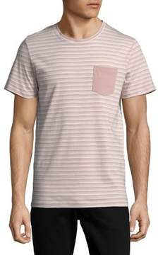 Selected Striped Short-Sleeve Tee