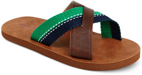 Hanna Andersson B-Crossband Sandals, Toddler, Little Boys (4.5-3) & Big Boys (3.5-7)