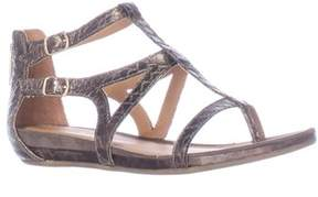 Kenneth Cole Lost Time Dress Gladiator Sandals, Pewter.