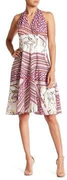 Alexia Admor Halter Fit & Flare Dress