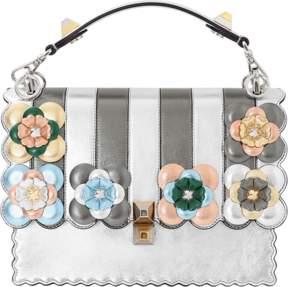 FENDI Kan I Metallic Flower Bag