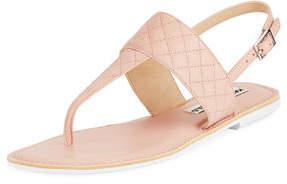 Karl Lagerfeld Paris Mildred Low Quilted Sandal