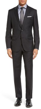 BOSS Men's 'Huge/genius' Trim Fit Wool Suit