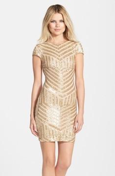 Dress the Population Women's Tabitha Sequin Minidress
