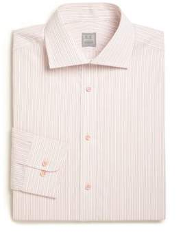 Ike Behar Regular-Fit Striped Cotton Dress Shirt