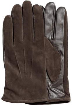 H&M Suede gloves - Brown
