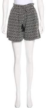 Masscob Distressed Mini Shorts
