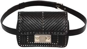 Valentino Mini Ziggy Studded Leather Belt Pack