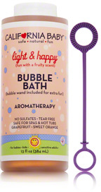 California Baby Light and Happy Aromatherapy Bubble Bath