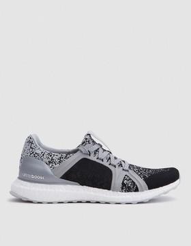 adidas by Stella McCartney Ultra Boost Sneaker in Silver Metallic/Light Grey