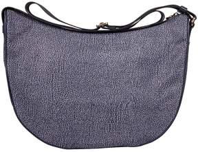 Borbonese Blue Medium Luna Bag