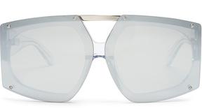 Karen Walker Salvador shield-frame sunglasses