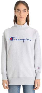 Champion Oversize Logo Cotton Sweatshirt