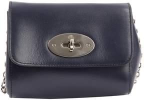 Mulberry Navy Leather Handbag