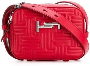 Tod's Double T quilted shoulder bag