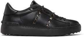 Valentino Black Garavani Rockstud Untitled 11 Open Sneakers