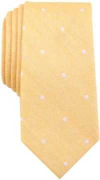 Bar III Men's Reuther Dot Skinny Tie, Created for Macy's