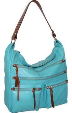 Nino Bossi Elisa Leather Shoulder Bag (Women's)