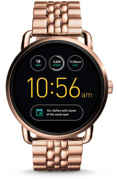 Fossil REFURBISHED Gen 2 Smartwatch - Q Wander Rose Gold-Tone Stainless