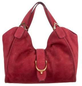 Gucci Soft Stirrup Hobo - RED - STYLE