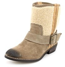 Kelsi Dagger Tempest Women Round Toe Suede Mid Calf Boot.