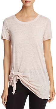 Andrew Marc Performance Side Twist Tee