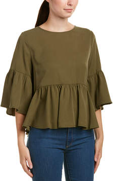 Central Park West Ruffle Top