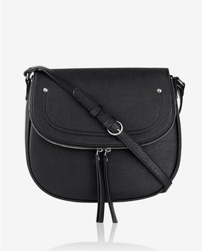 Express Large Zip Flap Saddle Bag
