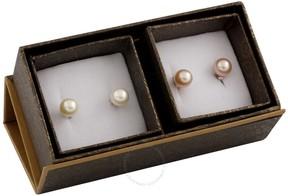 Bella Pearl 14K Gold Boxed Duo Earring Set SET-R