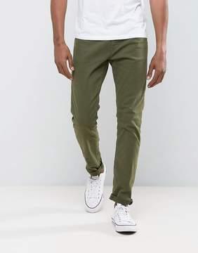 Esprit Slim Fit Khaki Jeans