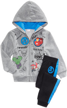 Marvel 2-Pc. Avengers Hoodie & Pants Set, Little Boys (4-7)