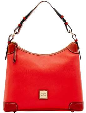 Dooney & Bourke Pebble Grain Hobo Shoulder Bag - SALMON - STYLE