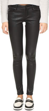AG Jeans Skinny Leather Pants