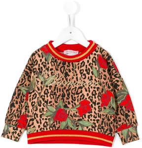 Miss Blumarine printed sweatshirt