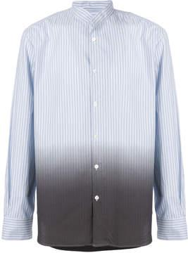 Ann Demeulemeester Icon colour gradient striped shirt