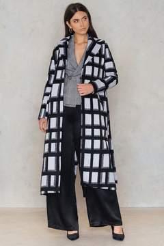 NA-KD Na Kd Checked Coat