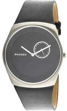 Skagen Men's Havene SKW6414 Silver Leather Japanese Quartz Fashion Watch